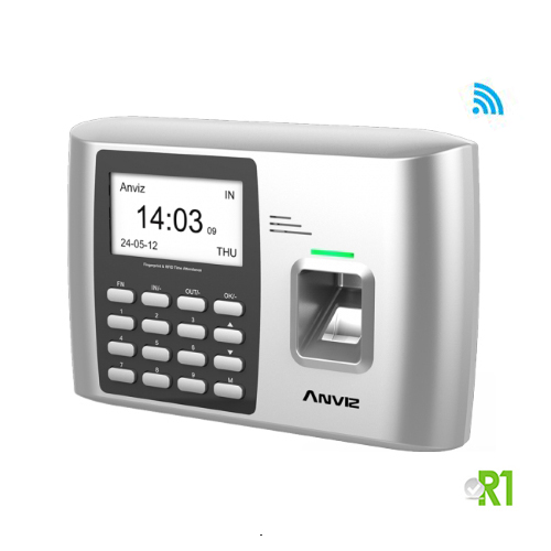Anviz, A300ID-W: Biometric, RFID  and/or PIN code (Refurbished). 12 month warranty.
