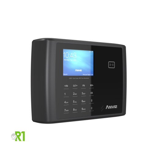 Anviz, A350C BT-WIFI: RFID, PIN code device, relay, wi-fi, bluetooth and Linux.
