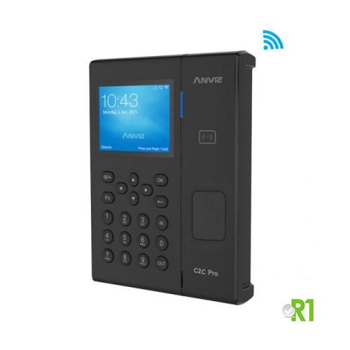 C2C-Pro: RFID, codice PIN, wi-fi, PoE e Linux.