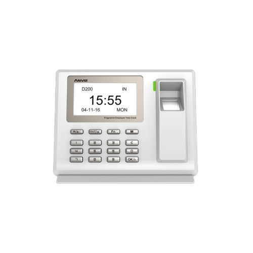 Anviz, D200-L: Biometric, and/or PIN code with LAN (Refurbished). 12 month warranty.