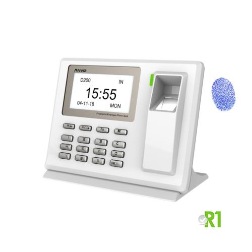 D200: biometrico e codice PIN.