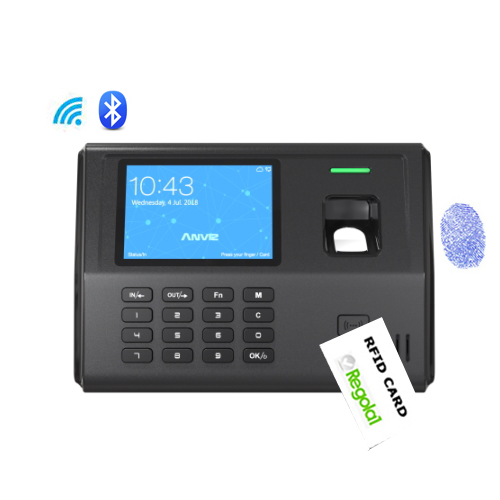 EP300 Pro WIFI-BT: biometric device, RFID, PIN code, wi-fi, bluetooth and Linux.