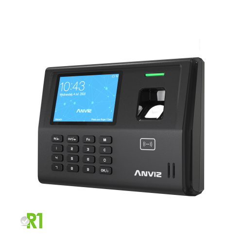Anviz, EP300 Pro WIFI-BT: biometric device, RFID, PIN code, wi-fi, bluetooth and Linux.