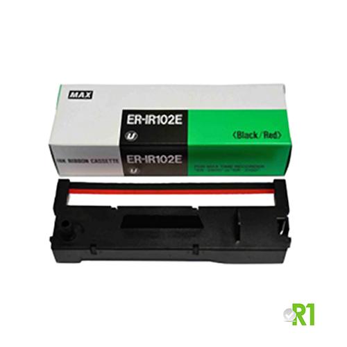 ER-IR102E: Cartuccia nastro timbracartellino MAX2700