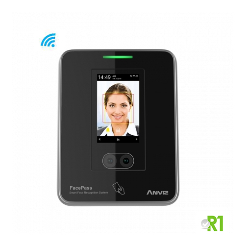 FACEPASS7: Face recognition, RFID and/or PIN code
