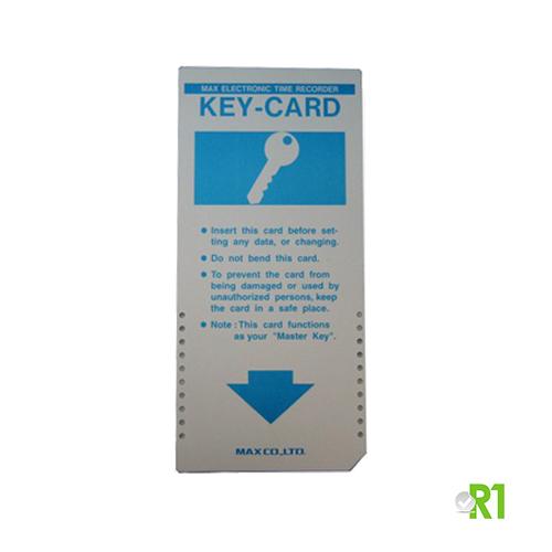 KEYCARD: programmazione marcatempo e timbracartellini linea MAX