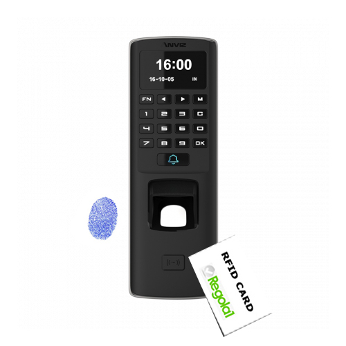 Anviz, M7: Biometric, RFID and Mifare and PIN code, Touch,IP65 and PoE
