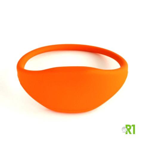 MF1TG-BRO: N.50 Tag Mifare 1k braccialetto 60 mm. colore arancio € 1,04 cad.