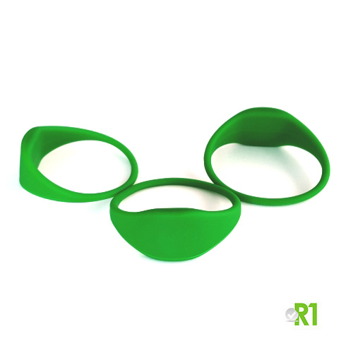 MF4TG-BRG: N.50 Tag Mifare 4k braccialetto 60 mm. colore verde € 1,85 cad.
