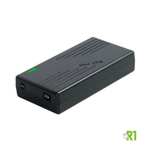 MINI-UPS-12V: Mini UPS batteria ricaricabile 12V