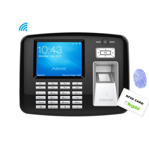 OA1000-PRO: Biometric, RFID, PIN code, photo camera and Linux.