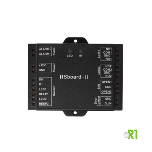R-SBOARDII: Mini Controller with 2 relays
