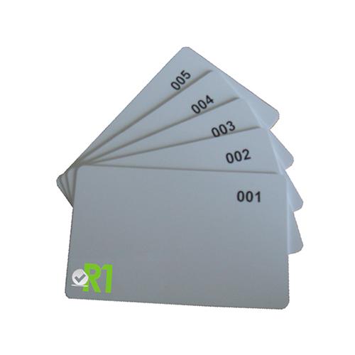 R1-RF: N.5 Tessere RFID prestampate € 3,00 cad.