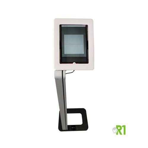 R1PASS: Green Pass Verification Totem, it reads Eu Digital Covid Certificate (paper or digital), Verification App (install your local vacination cerificate app).