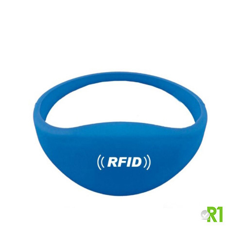 RFTG-BRB: N.50 RFID Key fob wristband 60 mm. Blue color € 0.86 each