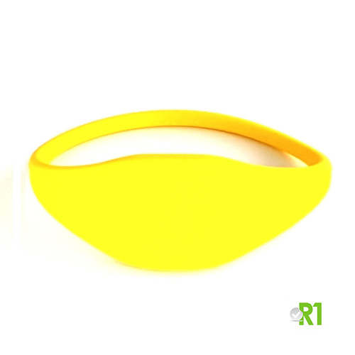 RFTG-BRY: N.50 RFID Key fob wristband 60 mm. Yellow color € 0.86 each
