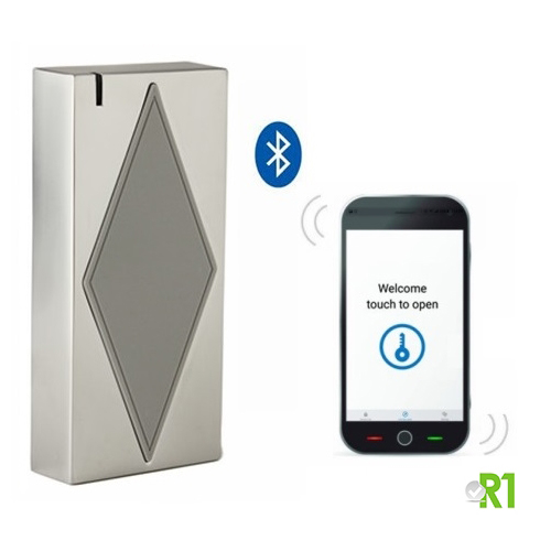 RS5-BTMF: Mifare, Bluetooth e APP, IP66.