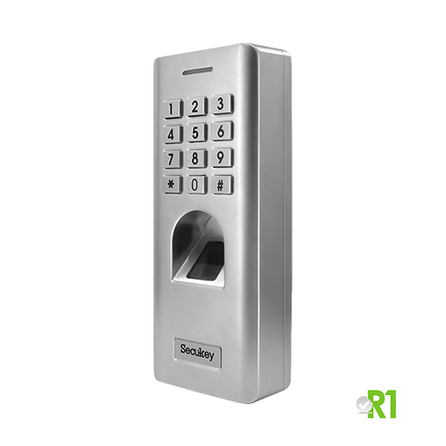 Secukey, RSF2: biometrico, PIN, IP66.