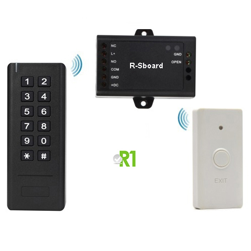 RSK3-II: RFID e codice PIN, Wireless.