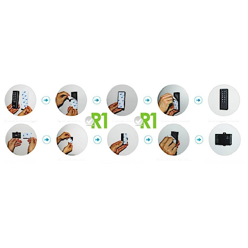 Secukey, RSK3-II: RFID e codice PIN, Wireless.