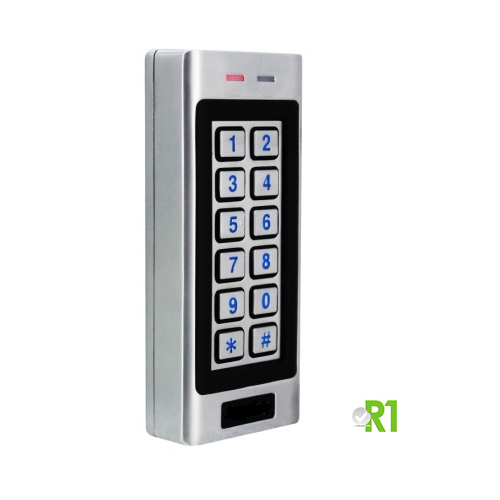 Secukey, RSK4-W: RFID and codice PIN, IP66.