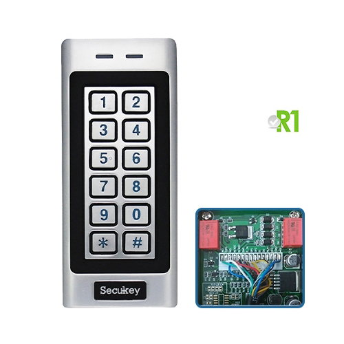 Secukey, RSK4: RFID and PIN code, IP66, two relays.