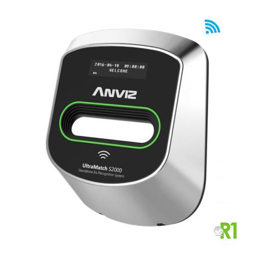Anviz, S2000-IRIS: riconoscimento iride e RFID.