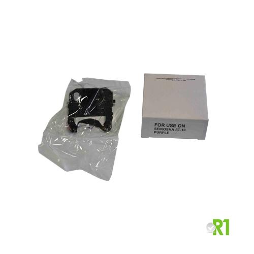 TP10-NAST: Cartuccia nastro per timbradocumenti SEIKO TP-10