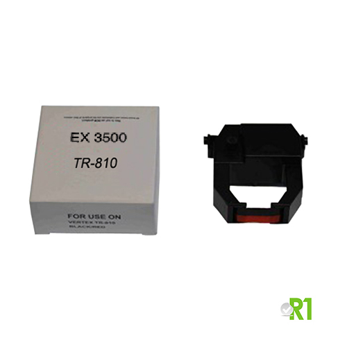TR-810: Ribbon/cartridge for EX3500, EX9000, BX6000, EX3000 time recorders