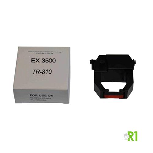 TR-810: Cartuccia nastro per timbracartellini EX3500, EX9000, NE-6000