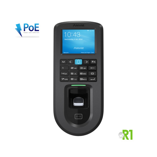 VF30 Pro: Biometric, RFID, PIN code, Linux OS. PoE and WiFi.