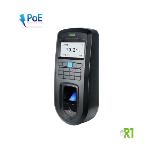 Anviz, VF30ID-P: biometrico, RFID, codice PIN e PoE.
