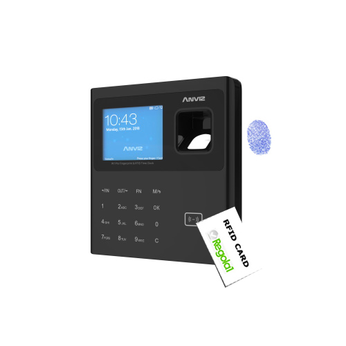W1 Pro-B: Biometric, RFID, PIN code, Linux OS. with backup battery